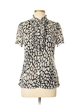 INC International Concepts Short Sleeve Button-Down Shirt Size XL