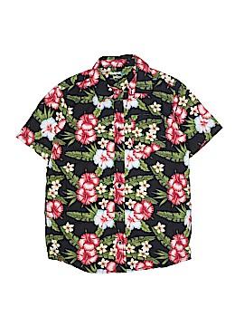 Tony Hawk Short Sleeve Button-Down Shirt Size X-Large (Kids)