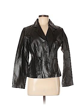 Chadwicks Leather Jacket Size 6 (Petite)