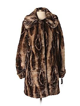 Hilary Radley Faux Fur Jacket Size XS