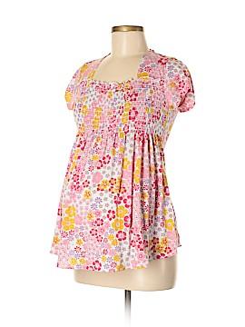 Hiatus Maternity Short Sleeve Top Size M (Maternity)