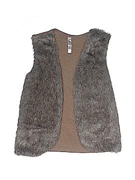 Beautees Faux Fur Vest Size X-Large (Youth)