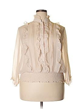 Isabella Rodriguez Long Sleeve Blouse Size 1X (Plus)