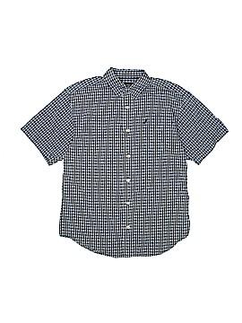 Nautica Short Sleeve Button-Down Shirt Size 12 - 14