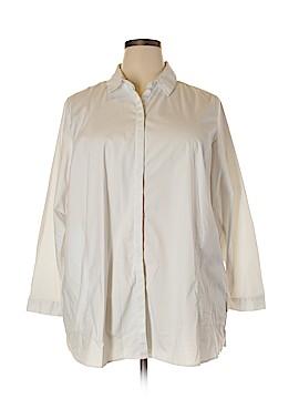 PREMISE Long Sleeve Button-Down Shirt Size 20 (Plus)