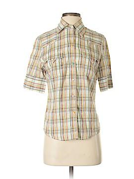 Lucky Brand Short Sleeve Button-Down Shirt Size S