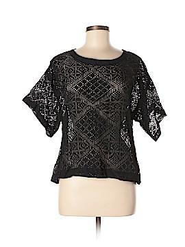 Enza Costa Short Sleeve Blouse Size 2