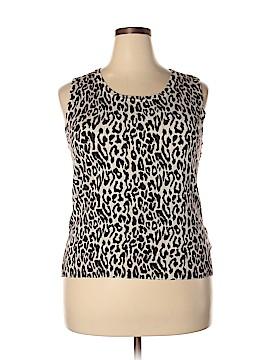 Linda Matthews Sleeveless Top Size 2X (Plus)