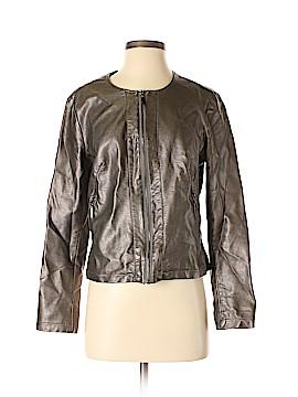 Alfani Faux Leather Jacket Size S