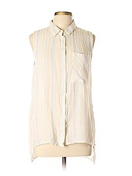 Velvet Heart Short Sleeve Button-Down Shirt Size M