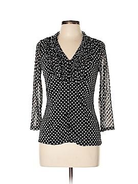 INC International Concepts 3/4 Sleeve Blouse Size L