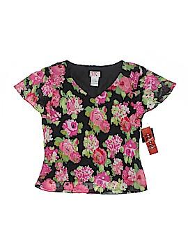 R&K Originals Short Sleeve Blouse Size 14