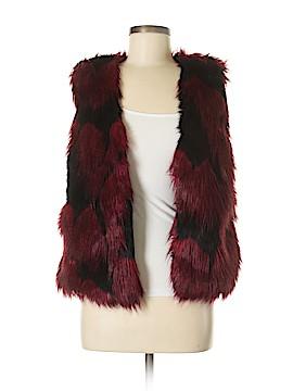 Melissa Paige Faux Fur Vest Size S