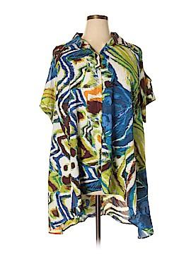 Anthony Original Short Sleeve Blouse Size XL