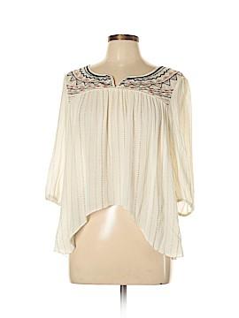 Jolt 3/4 Sleeve Blouse Size L