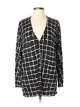 Neiman Marcus Silk Cardigan Size L