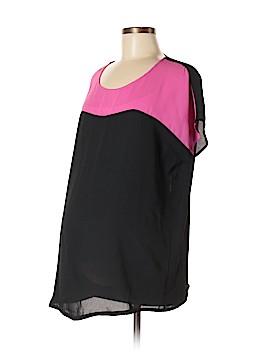 MAMA LICIOUS - Maternity Short Sleeve Blouse Size M (Maternity)