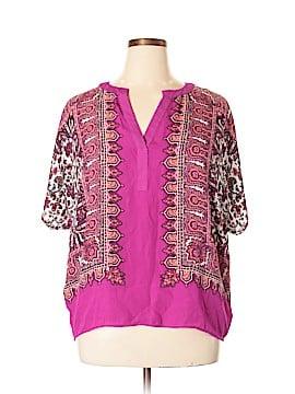 Rose & Olive 3/4 Sleeve Blouse Size XL