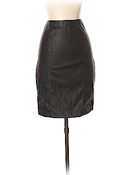 Ellen Tracy Faux Leather Skirt Size S