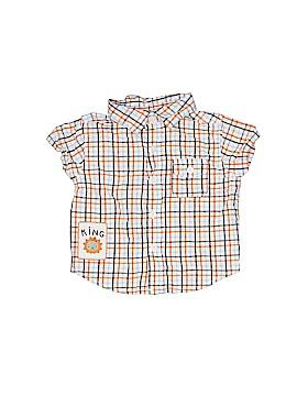 Crazy 8 Short Sleeve Button-Down Shirt Size 0-3 mo