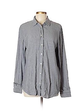 Banana Republic Long Sleeve Button-Down Shirt Size L (Tall)