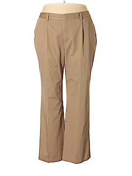 Eddie Bauer Khakis Size 22w (Plus)