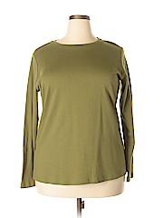 Isaac Mizrahi LIVE! Women Sweatshirt Size 1X (Plus)