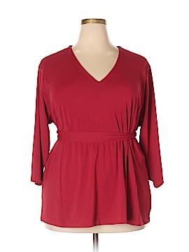 Venezia 3/4 Sleeve Blouse Size 22 - 24 Plus (Plus)