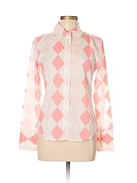 Central Park Long Sleeve Button-Down Shirt Size M