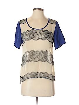 Bar III Short Sleeve Blouse Size S