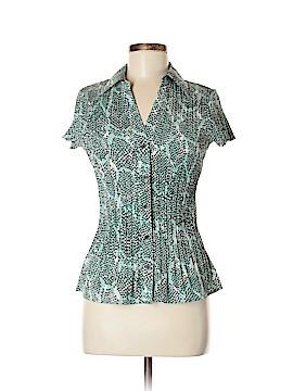 Apt. 9 Short Sleeve Button-Down Shirt Size M (Petite)