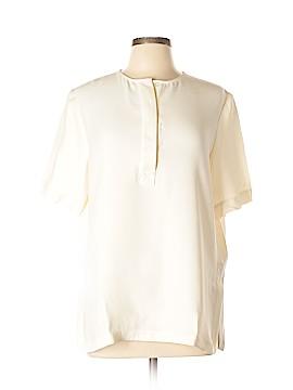 ADAM by Adam Lippes Short Sleeve Silk Top Size L