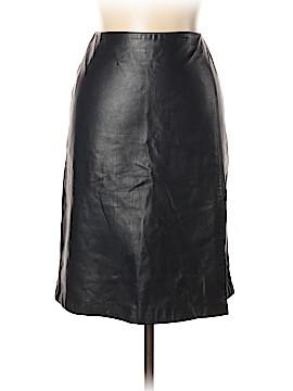 Anne Klein Leather Skirt Size 10