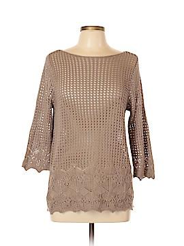 Jeanne Pierre 3/4 Sleeve Top Size L