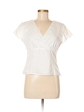 Ann Taylor Short Sleeve Blouse Size 8 (Petite)