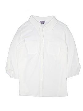 Laura Scott 3/4 Sleeve Button-Down Shirt Size 16 - 18W