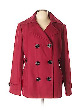 Fashion Bug Wool Coat Size XL