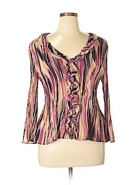 Allison Taylor Long Sleeve Blouse Size XL