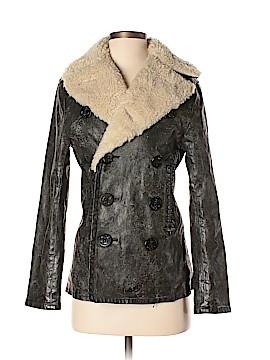 Denim & Supply Ralph Lauren Faux Leather Jacket Size XXS