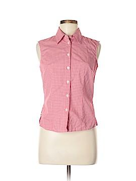 Evan Picone Sleeveless Button-Down Shirt Size 6