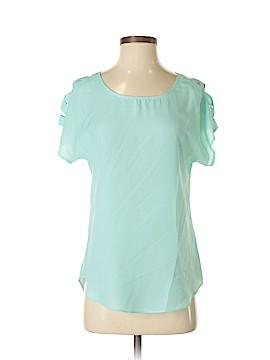 Express Short Sleeve Button-Down Shirt Size XS