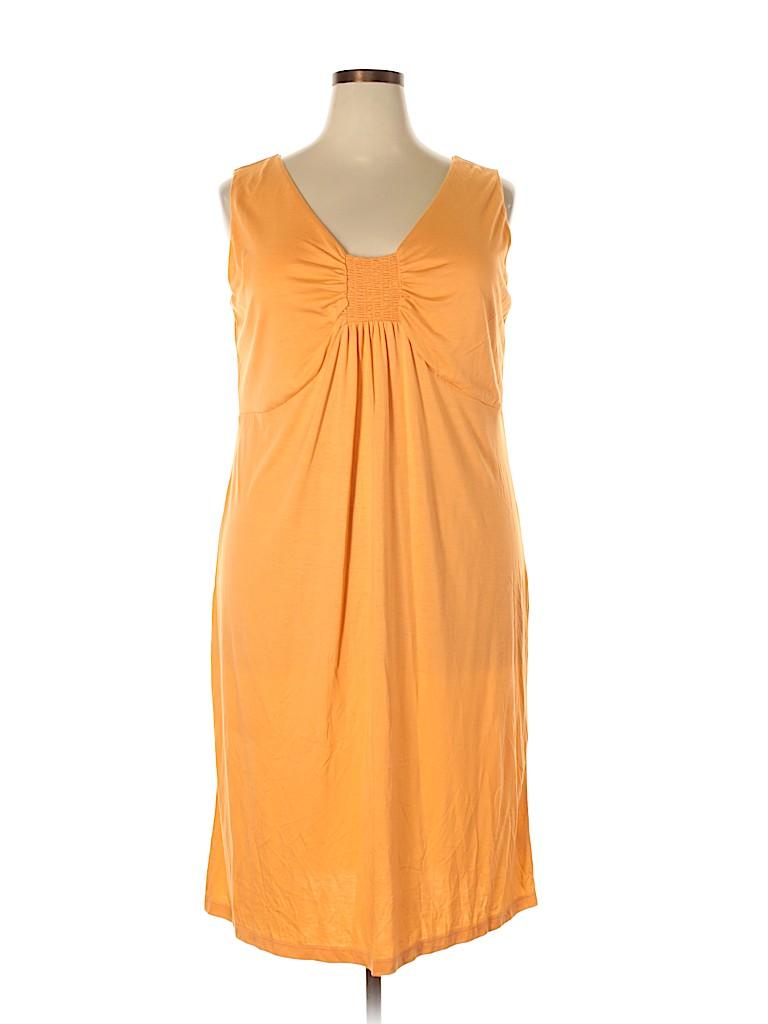 Talbots Women Casual Dress Size 2X (Plus)