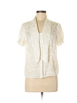 Pendleton Short Sleeve Silk Top Size 6 (Petite)