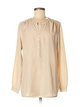 Anne Klein Long Sleeve Blouse Size M