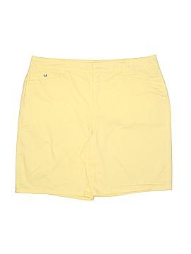 Bandolino Khaki Shorts Size 16