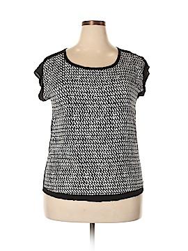 Cynthia Rowley for T.J. Maxx Short Sleeve Blouse Size XL