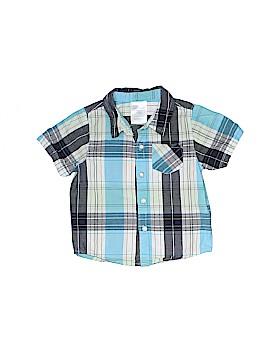 Little Wonders Short Sleeve Button-Down Shirt Size 12 mo