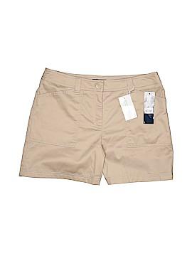 Jones New York Signature Khaki Shorts Size 12 (Petite)