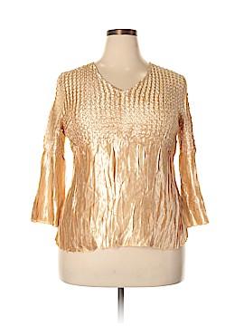 Essentials 3/4 Sleeve Blouse Size XL
