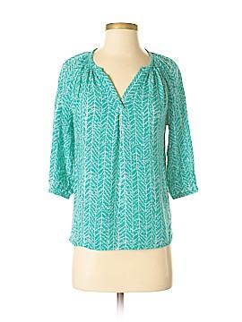 Susan Bristol 3/4 Sleeve Blouse Size S